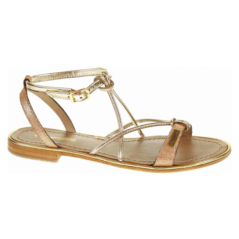 Dámské sandály Les Tropeziennes 19024 Hirondel shiny coral C19024HIRONDEL