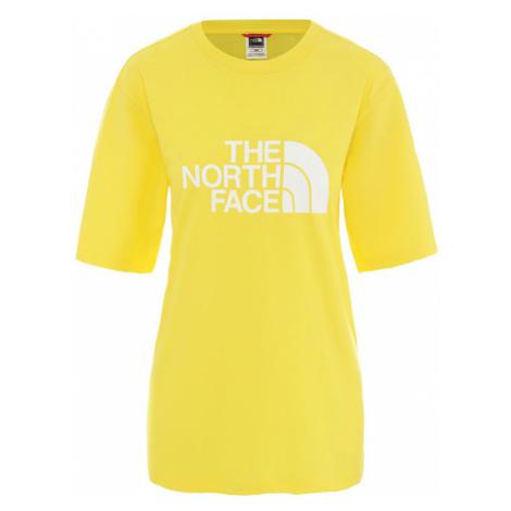 The North Face W Bf Easy Tee Lemon-L žlté NF0A4M5PDW9-L