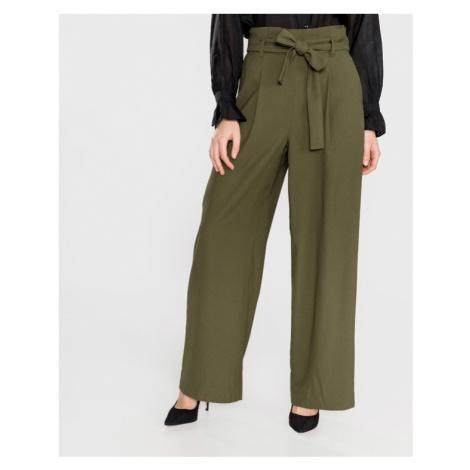 Vero Moda Kim Kalhoty Zelená