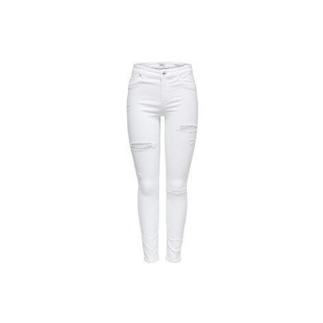 ONLY Dámske skinny džínsy ONLBLUSH White