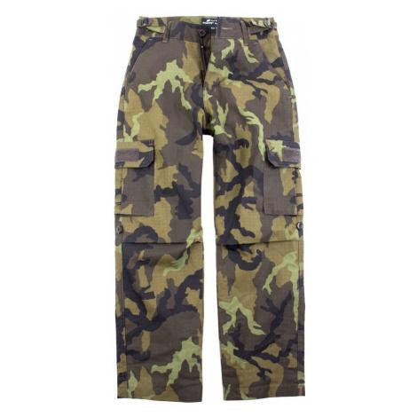 Detské maskáčové nohavice - vzor 95