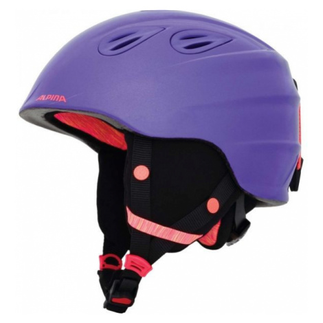 Alpina Sports GRAP 2.0 JR fialová - Detská lyžiarska prilba