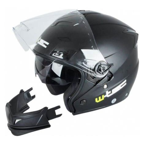 Moto prilba W-TEC NK-850 Farba matne čierna