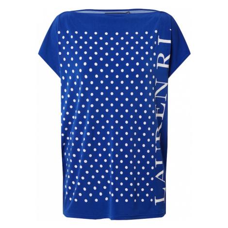 Lauren Ralph Lauren Tričko 'ANDRENITA'  modrá / biela