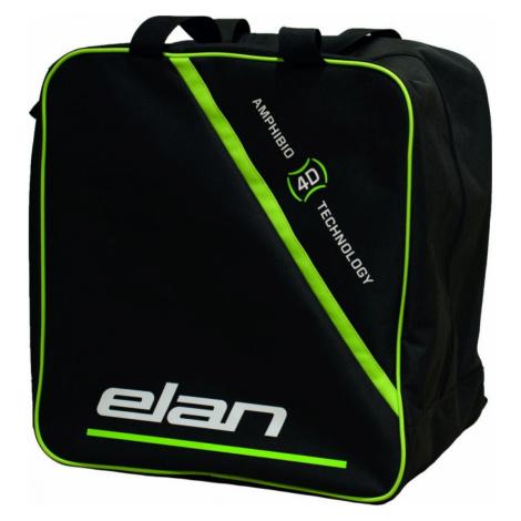 Vak na lyžiarky a prilbu ELAN Boots & Helmet Čierno-zelená