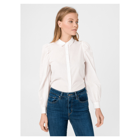 Miriam Košile Vero Moda Biela