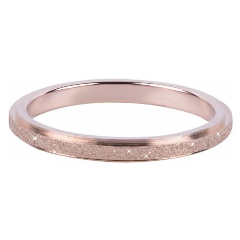 Troli Bronzový oceľový trblietavý prsteň mm