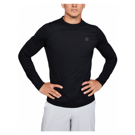 Tričko Under Armour Cg Rush Mock-Blk