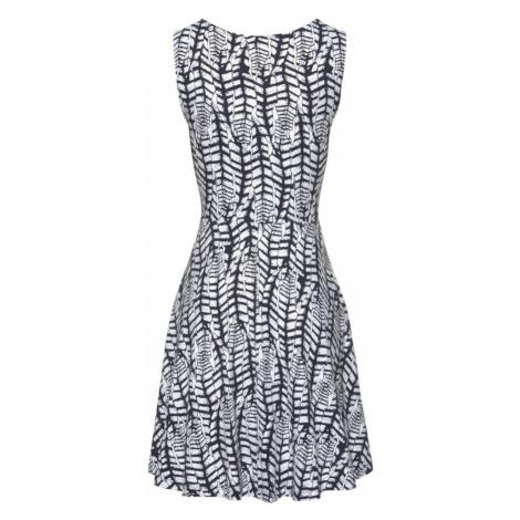 BEACH TIME Plážové šaty  námornícka modrá / biela Beachtime