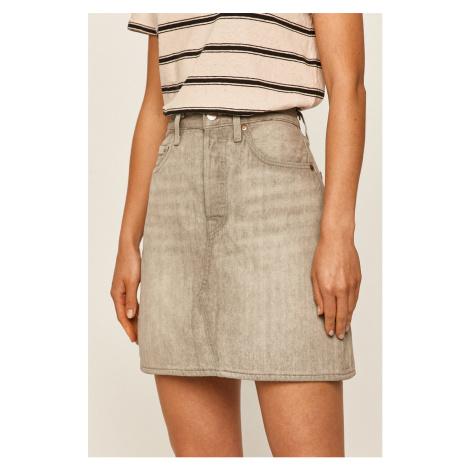 Levi's - Rifľová sukňa Levi´s