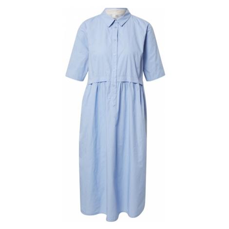 Noa Noa Košeľové šaty  dymovo modrá