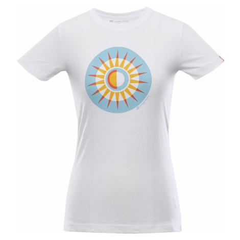 Alpine Pro Unega 8 dámske tričko bielej