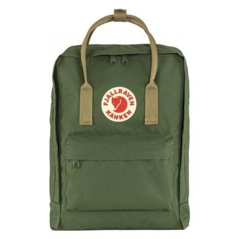 Štýlový zelený ruksak Fjallraven Kanken Fjällräven