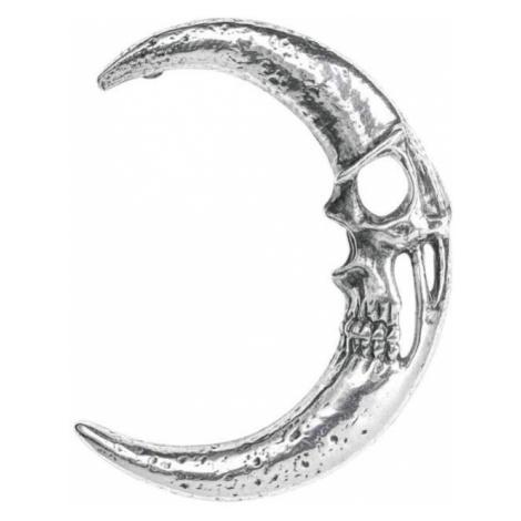 náušnice ALCHEMY GOTHIC - Moonskull - E418