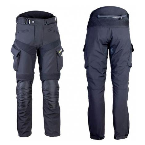 Pánske softshellové moto nohavice W-TEC Erkalis Farba čierna