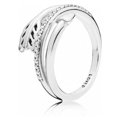 Pandora Strieborný prsteň Amorov šíp 197830CZ mm