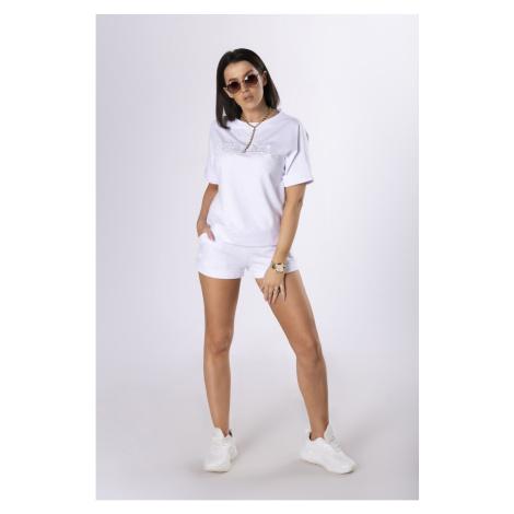 cotton blouse and shorts set