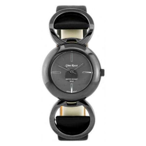 Čierne elegantné dámske hodinky Gino Rossi 1550A-1A3