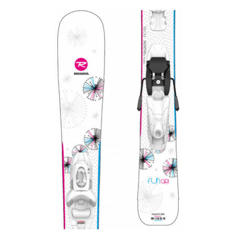 Rossignol FUN GIRL KID + KID 4 GW - Dievčenské zjazdové lyže