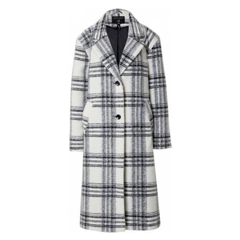 Dorothy Perkins Prechodný kabát  sivá / biela