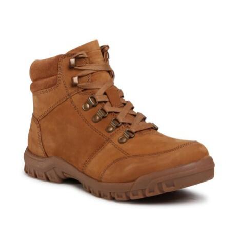 Šnurovacia obuv GO SOFT MI07-A988-A818-06 Prírodná koža(useň) - Nubuk