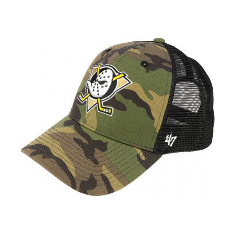 47 Brand Mvp Trucker Branson Nhl Anaheim Ducks Camo 2020