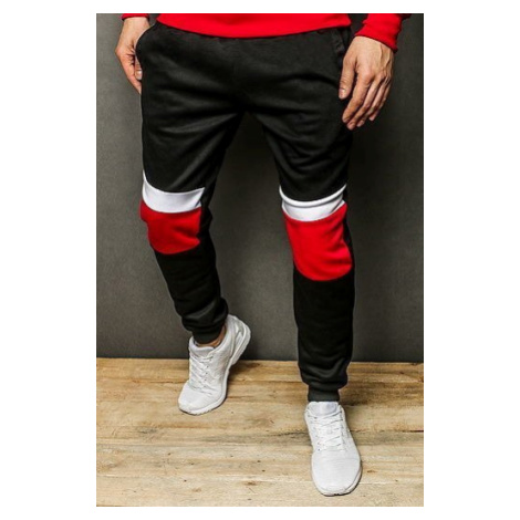 Men's black sweatpants UX2259 DStreet