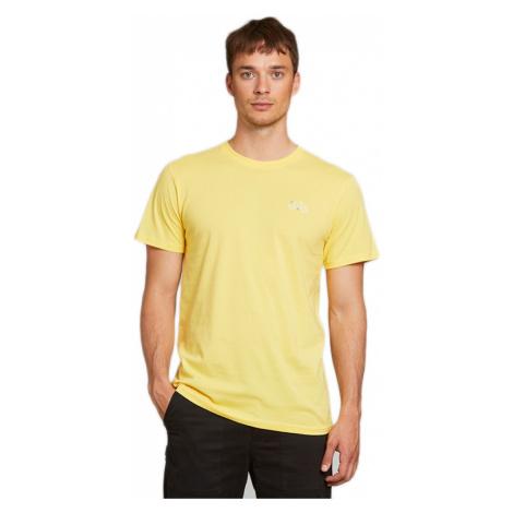 Dedicated T-shirt Stockholm Stitch Bike Yellow-XL žlté 18285-XL