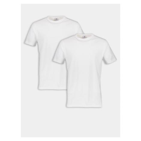 Tričká pre mužov LERROS - biela