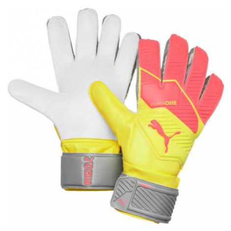 Puma ONE GRIP 4 RC oranžová - Pánske brankárske rukavice