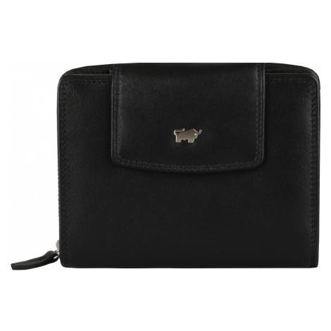 Braun Büffel Dámska kožená peňaženka Golf 2.0 90450-051 - černá