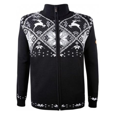Kama MERINO SVETER 4055 čierna - Pletený sveter