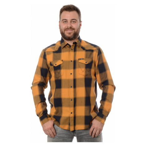 Košeľa Wrangler Western pánska žltá