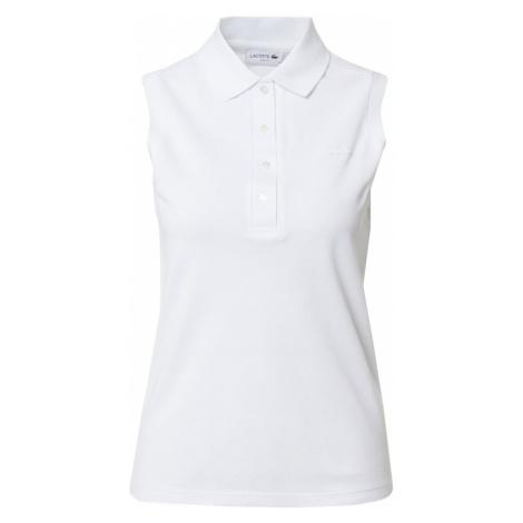 LACOSTE Tričko  biela
