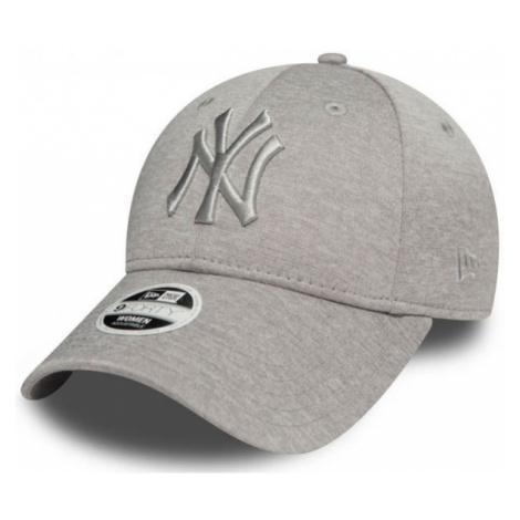New Era 9FORTY W MLB JERSEY HEATHER NEW YORK YANKEES šedá - Dámska klubová šiltovka