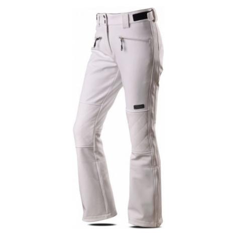 TRIMM VASANA biela - Dámske softshellové lyžiarske nohavice