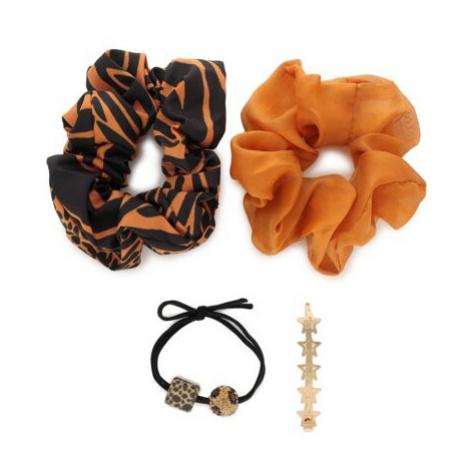 Doplnky do vlasov ACCCESSORIES 1WE-040-SS21 Materiał tekstylny
