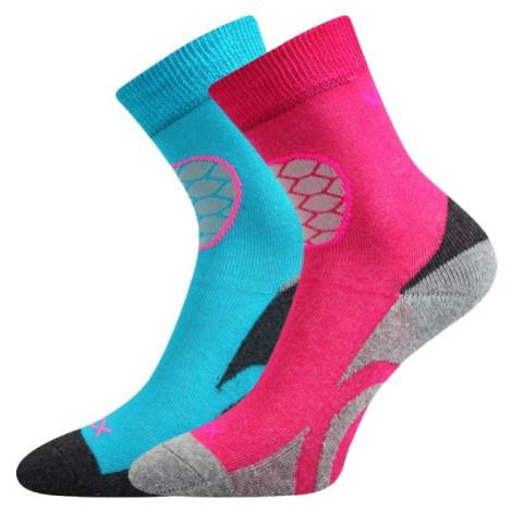 Voxx LOXIK 2P ružová - Detské froté ponožky