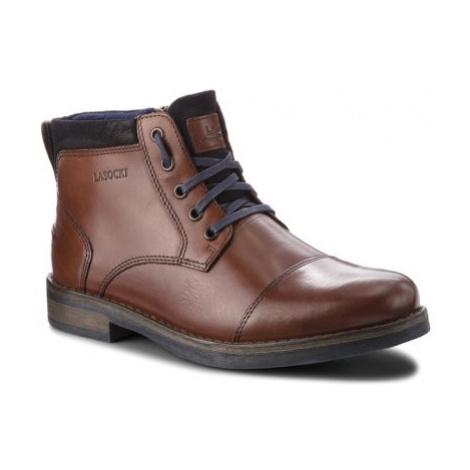 Šnurovacia obuv Lasocki for men MB-GORAN-01 koža(useň) zamšová,koža(useň) lícová