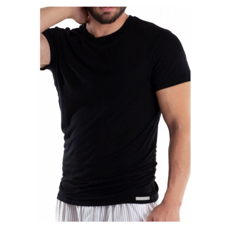 Pánske tričko čiernej