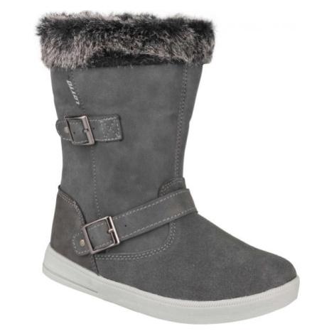 Lotto COLEN tmavo sivá - Detská zimná obuv