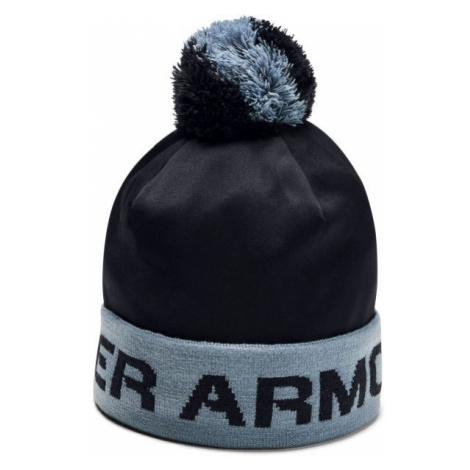 Under Armour GAMETIME POM BEANIE čierna - Chlapčenská čiapka