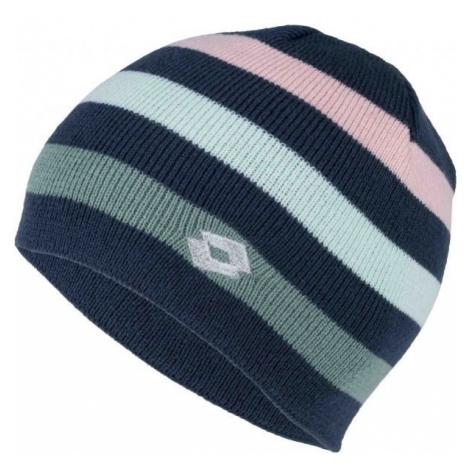 Lotto LEILA tmavo modrá - Dievčenská pletená čiapka