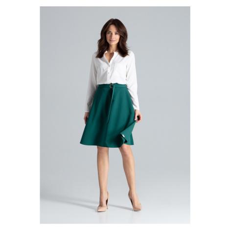 Lenitif Woman's Skirt L038 Green