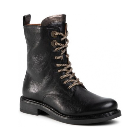 Šnurovacia obuv Lasocki WI23-S751-03 Prírodná koža(useň) - Lícova