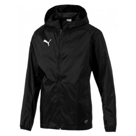 Puma LIGA TRAINING RAIN JKT CORE čierna - Pánska bunda