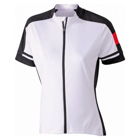 James & Nicholson Dámsky cyklistický dres JN453