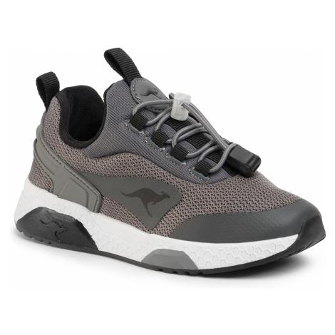 Topánky KANGAROOS - Kadee Bop 18462 000 2019 Steel Grey/Jet Black