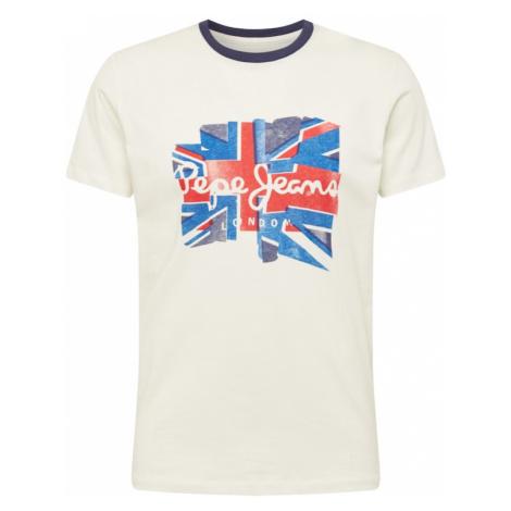 Pepe Jeans Tričko 'DONALD'  biela / námornícka modrá / červená / biela ako vlna