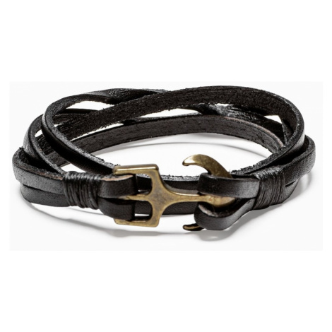 Ombre Clothing Men's bracelet on the strap A205